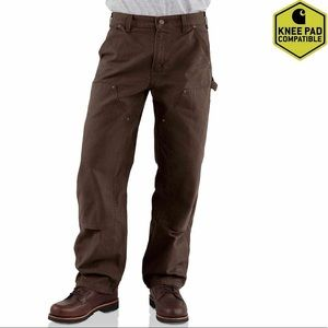 CARHARTT Double Front Work Dungaree Pants, Size 2.